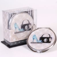 Ladies Handbag Compact Mirror